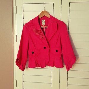 Lattule paris pusha pink jacket